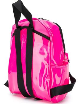 MOCHILA NIKE JUST DO IT TRANSPARENTE FUSCIA (MINI)