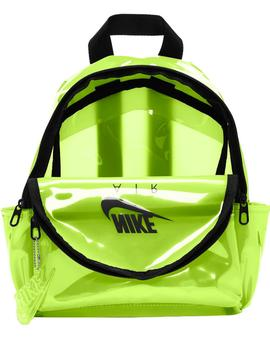 MOCHILA NIKE JUST DO IT TRANSPARENTE LIMA (MINI)