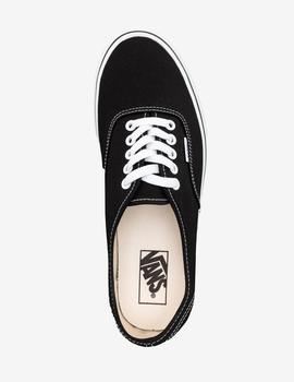 VANS  AUTHENTIC, NEGRO
