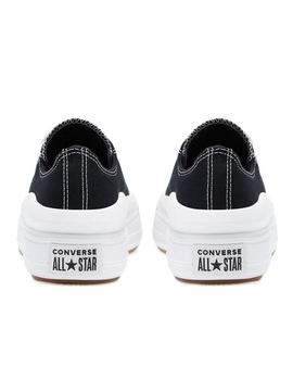CONVERSE CHUCK TAYLOR ALL STAR MOVE,LOW NEGRA