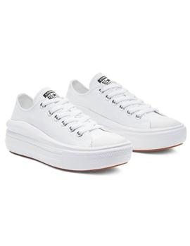 CONVERSE CHUCK TAYLOR ALL STAR MOVE, BAJO BLANCA