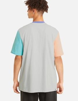 CAMISETA PUMA MANGA CORTA DOWNTOWN POCKET