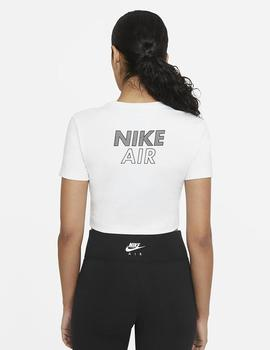 CAMISETA NIKE AIR WOMEN'S MANGA CORTA CROP