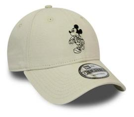 GORRA NEW ERA MICKEY COTTON 9FORTY BEIGE