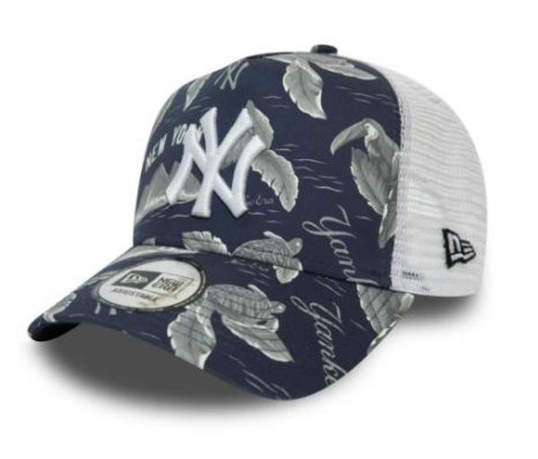 GORRA TRUCK NEW ERA NEW YORK ESTAMPADA AZUL