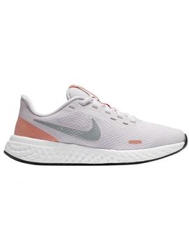 NIKE REVOLUTION 5 BIG KIDS' RUNNING, ROSA