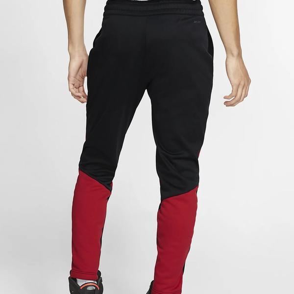 Jordan Pantalon 23alpha Therma Flc Negro Rojo