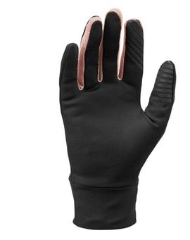 GUANTES TERMICOS NIKE MUJER NEGRO/ROSA