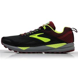 ZAPATILLA TRAIL RUNNING BROOKS CASCADIA 14, NEGRA/