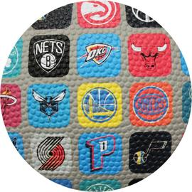 BALON NBA TEAM COLLECTION MULTICOLOR TALLA 7