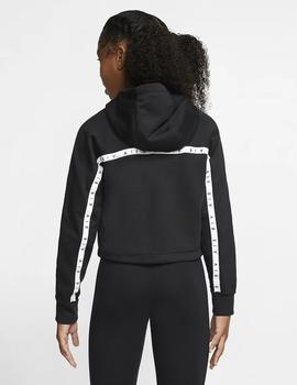SUDADERA NIKE AIR BIG KIDS' (GIRLS') CROPPED
