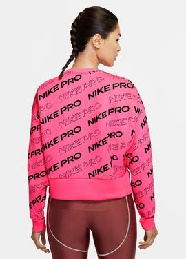 SUDADERA NIKE PRO WOMEN'S FLEECE CREW