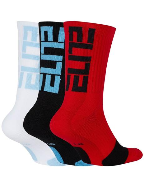 CALCETINES NIKE ELITE BASKETBALL CREW SOCKS (3
