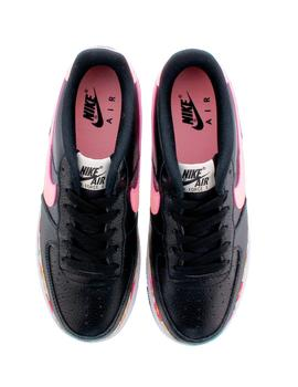 NIKE AIR FORCE 1 VF NEGRA/ROSA