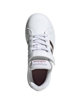 ZAPATILLA ADIDAS GRAND COURT JUNIOR BLANCA/BRONCE