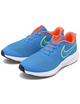ZAPATILLA NIKE STAR RUNNER 2 BIG KIDS' JUNIOR AZUL