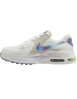 ZAPATILLA NIKE AIR MAX EXCEE MEN'S BLANCA/PLATA