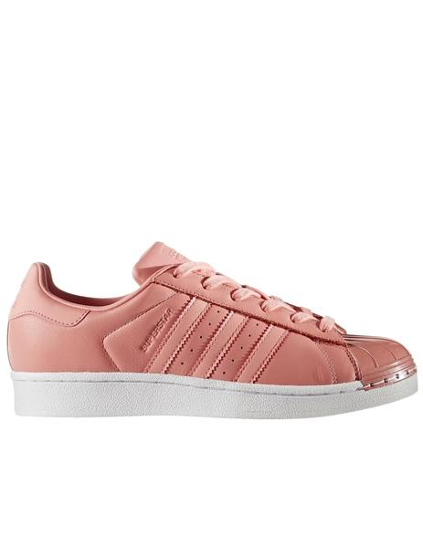 ZAPATILLA ADIDAS SUPERSTAR METAL TOE W, SALMON