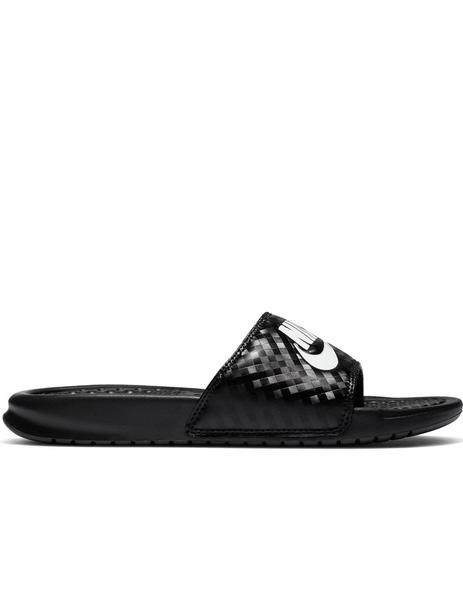 "CHANCLA NIKE BENASSI ""JUST DO IT."" MUJER, NEGRA"