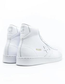 CONVERSE PRO LEATHER MID BLANCA