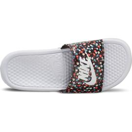 "CHANCLA NIKE BENASSI ""JUST DO IT."" MUJER FLORES/BL"