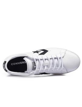 CONVERSE PRO LEATHER OX WHITE/BLACK
